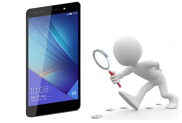 Data recovery on smartphone and tablets