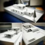 Villetta realizzata totalmente con la nostra 3DPRN ed esposta a Bologna al Model Game 2015